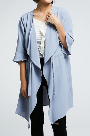 Long Cardigan 0715 - Ample Couture