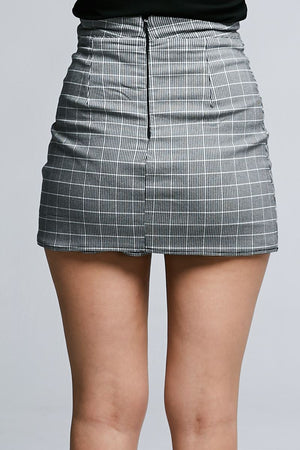 Button Short Pants 0647 - Ample Couture