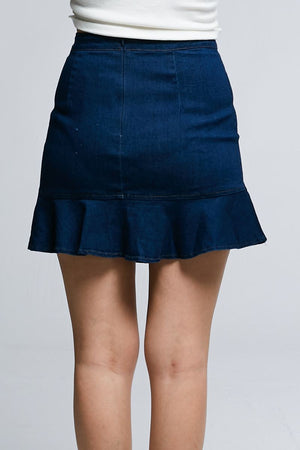 Jean Skirt 0621 - Ample Couture