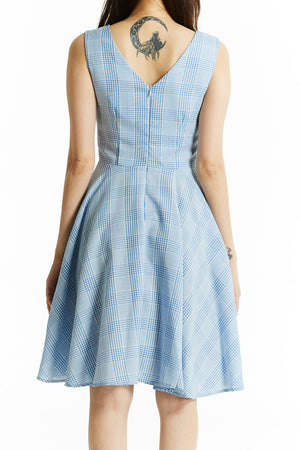 Plaid Dress 0790 Dresses