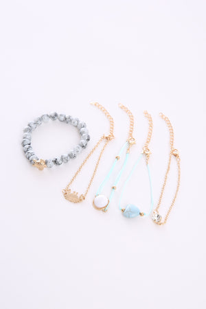 Ocean Bracelet Set B0927 - ample-couture