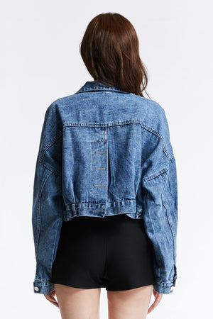 Denim Jacket 0863 - Ample Couture