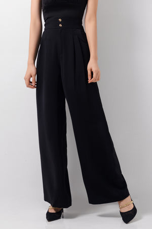French Pleats Pants