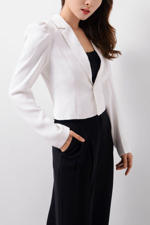 Structured Sleeves Blazer  (Premium Quality Ready Stock)