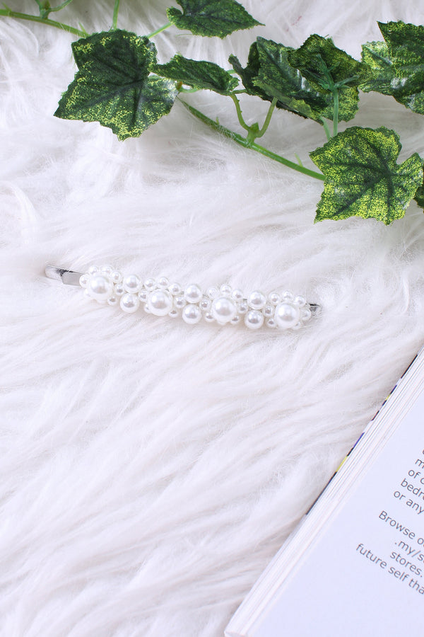 Pearl Hair Clip HC103 - ample-couture