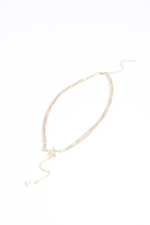 Diamond Choker N6444 - ample-couture