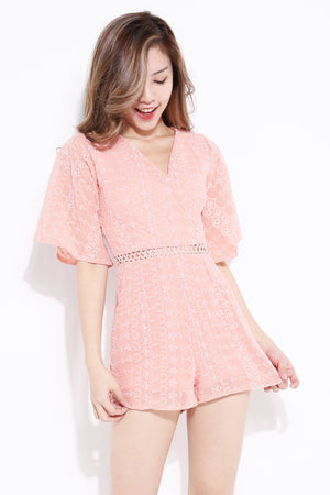 Crochet Playsuit 6996