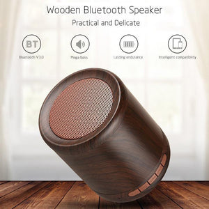 Rainy Day - Mini Portable Bluetooth/Aux Speaker