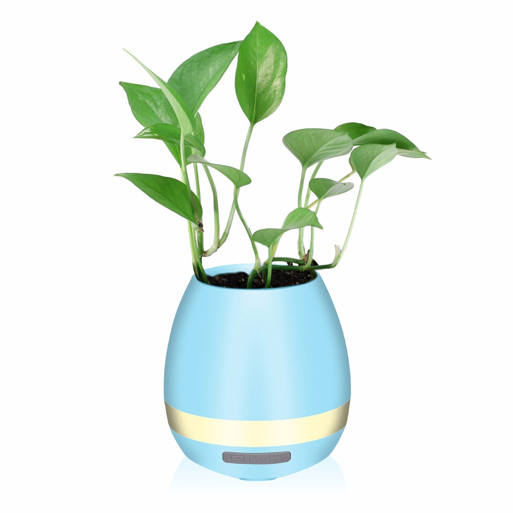 Smart Rhythm Pot - Touch Sensitive Musical Flower Pot Bluetooth