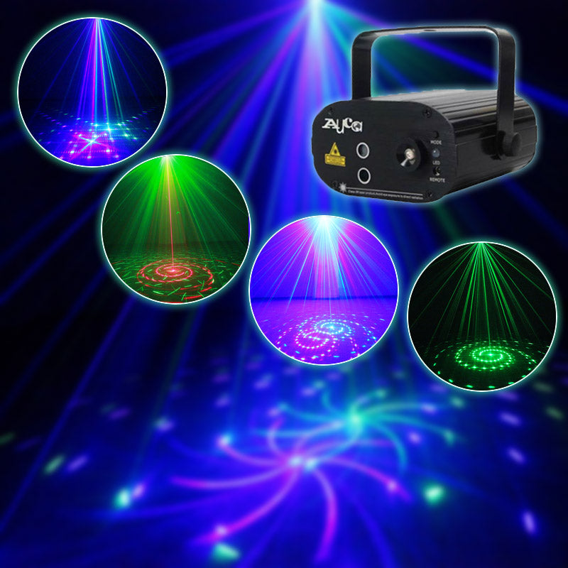 Faded Series - Laser Show Projector Sound Active