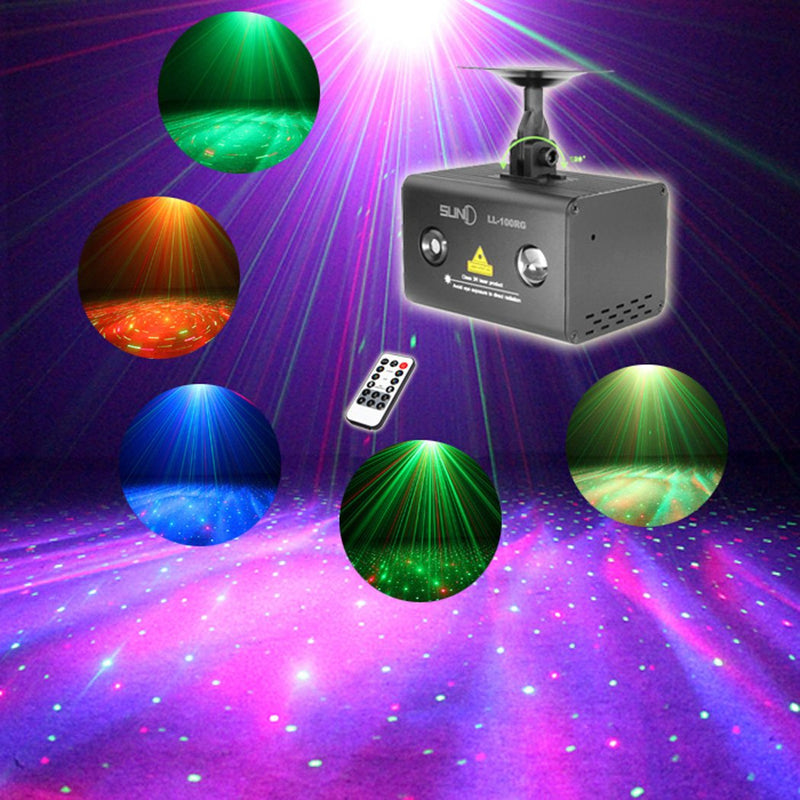 Galaxy Series - Laser Show Projector Sound Active