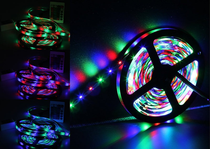 Trippy LED RGB Light Strip Stick to any Surface