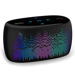 (Bass Boosted) Music Visualizer Bluetooth Portable Speaker - Visionary Series