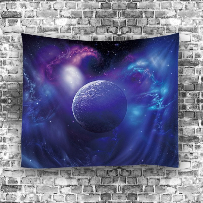 Space Dream Inspiring Bedroom Wall Tapestry