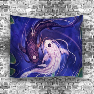 In Perfect Harmony Zen Wall Tapestry