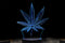 Marijuana 3D Optical Illusion Hologram Engraved USB Lamp
