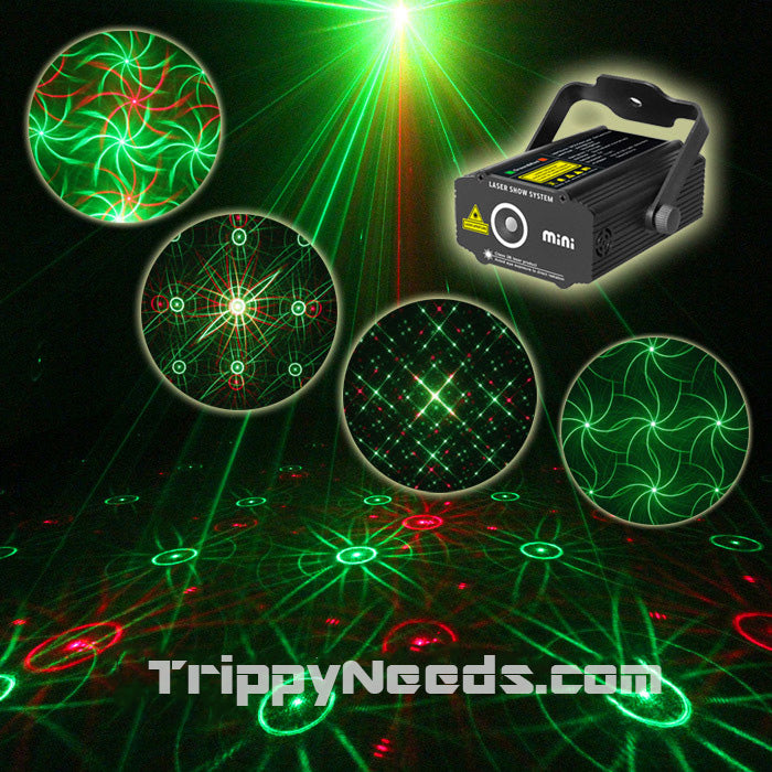 Laser Show Projector Sound Active Psychedelic Series