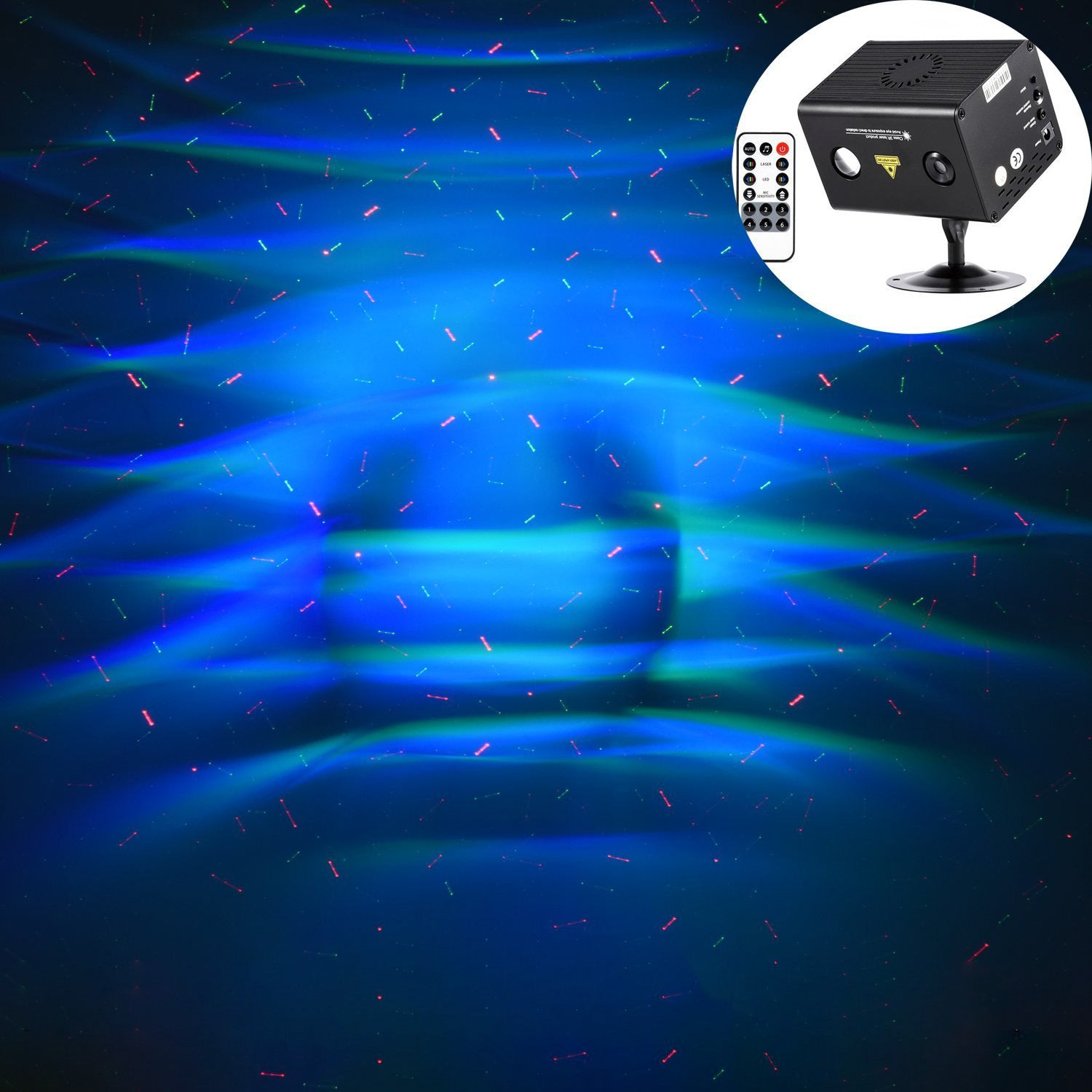 Laser Show Projector Sound Active Galaxy Series