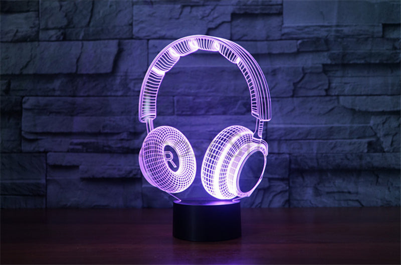 3D Optical Illusion Hologram Engraved USB Lamp