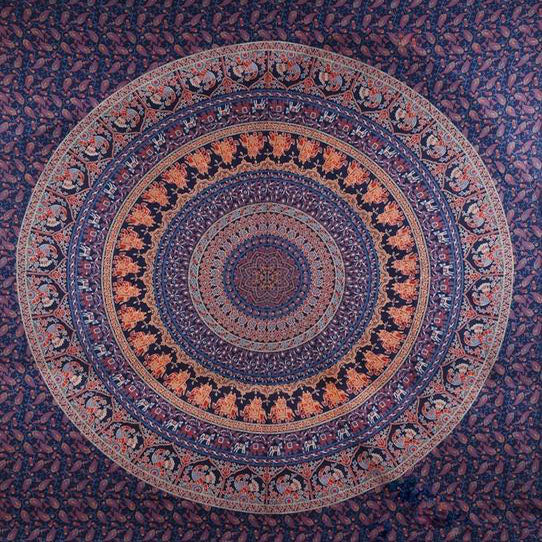 Traditional Mandala Bohemian Tapestry