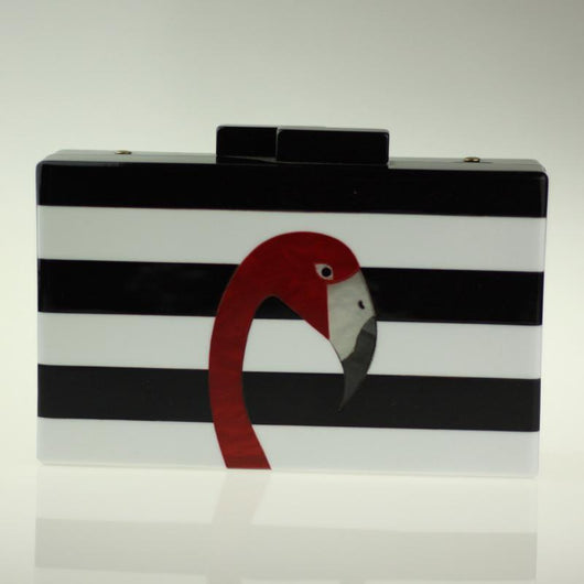 Bolsa Clutch Beta & Tiara Pelican - Florida Outlet