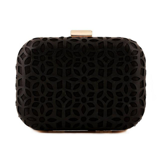 Bolsa Clutch Luxy Moon Hollow Out - Florida Outlet