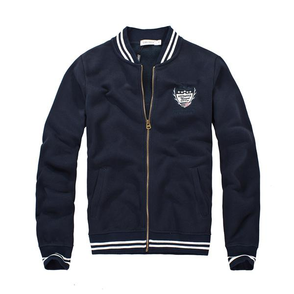 Jaqueta Moleton Zipper Bomber 2017 - Florida Outlet