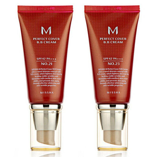 MISSHA M Perfect Cover BB Cream (SPF42/PA+++) 50ml Original Korea-Florida Outlet