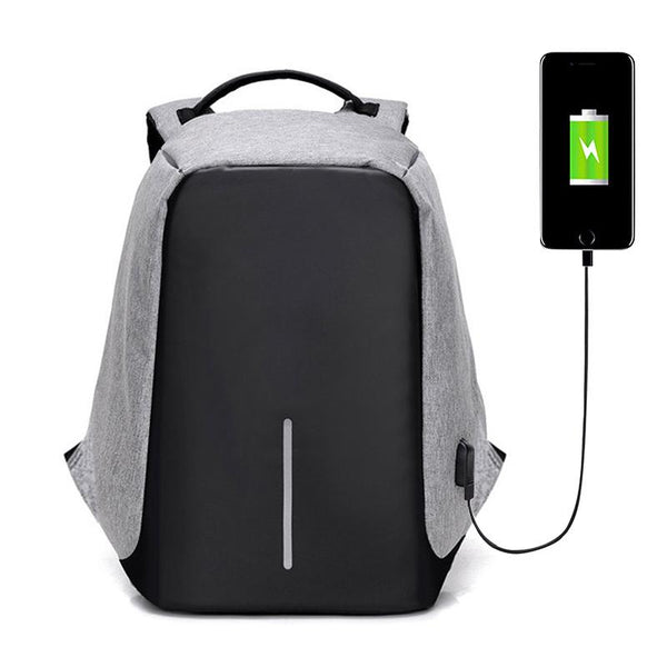 Mochila Anti Furto Bobby Impermeável - Porta USB-Florida Outlet