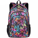 Mochila Aoking Flowers Printed Nylon-Florida Outlet