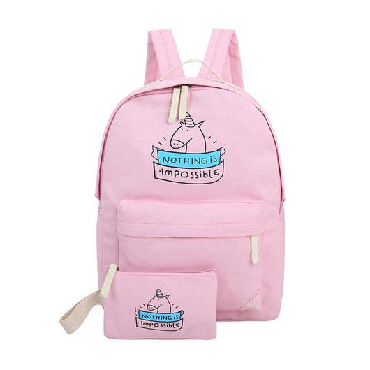 Mochila Gubintu Canvas Unicorn-Florida Outlet