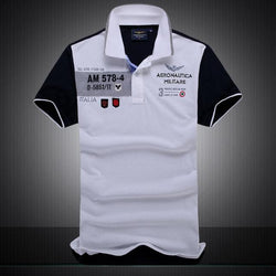 Polo Masculina Aeronautica Top 2017 AM Gray-Polos-Florida Outlet