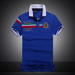 Polo Masculina Aeronautica Top 2017 Blue Italia-Polos-Florida Outlet