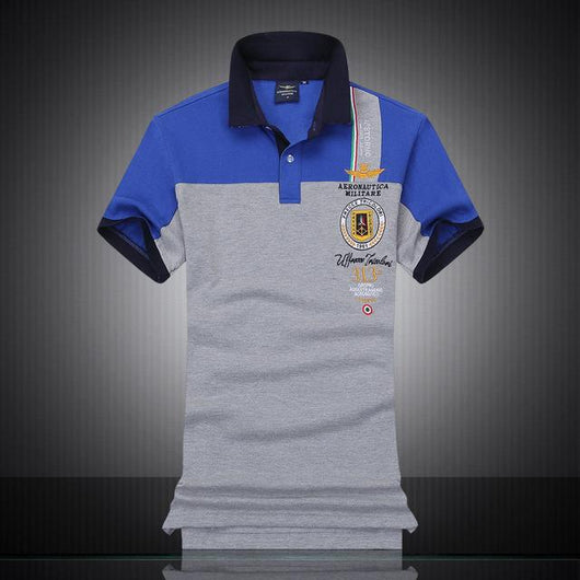 Polo Masculina Aeronautica Top 2017 Blue-Polos-Florida Outlet