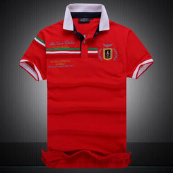 Polo Masculina Aeronautica Top 2017 Red Italia-Polos-Florida Outlet