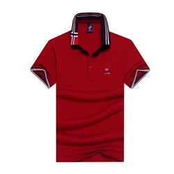 Polo Masculina Tace & Shark Yatching Red-Polos-Florida Outlet