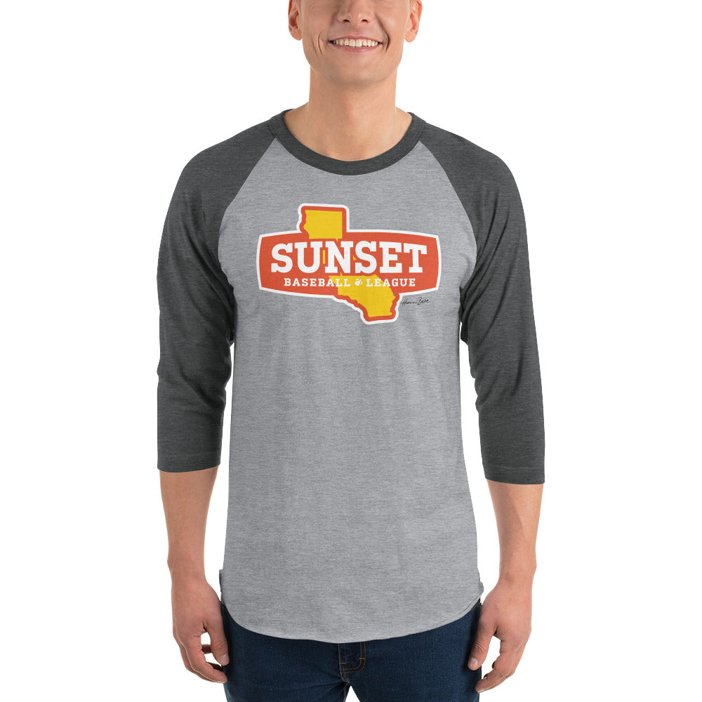 Sunset Baseball Shirt