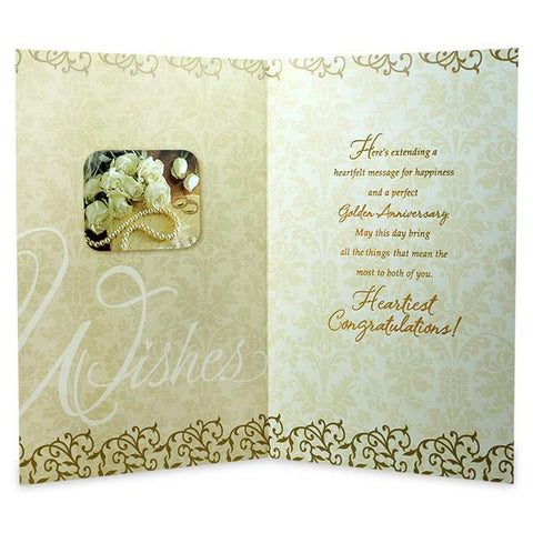 Golden Anniversary Wishes Greeting Card