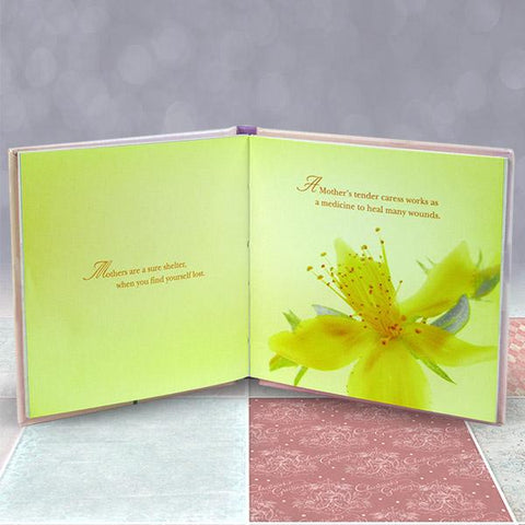 For A Dear Mom Quotation Book
