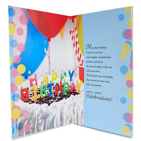 Gracious Wishes Birthday Card