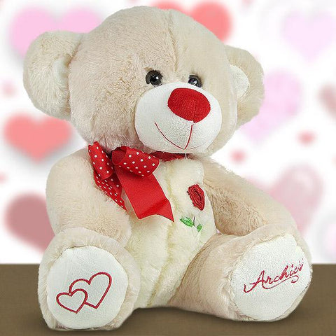 Adorable Beige 17.3 Inches Teddy Bear