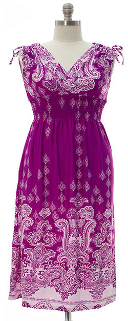 Ainslie Maxi Dress - Purple