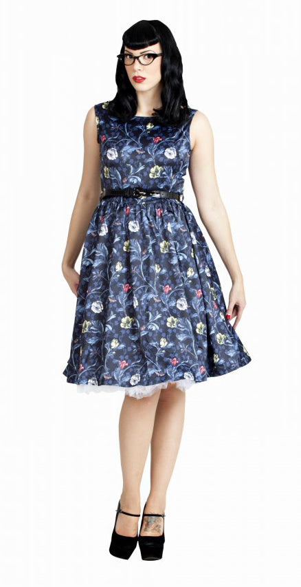 Audrey Dress - Moonlit Floral