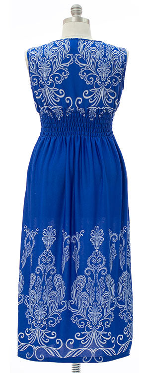 Brooklyn Maxi Dress - Royal Blue
