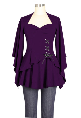 Sweetheart Corset Top - Amethyst
