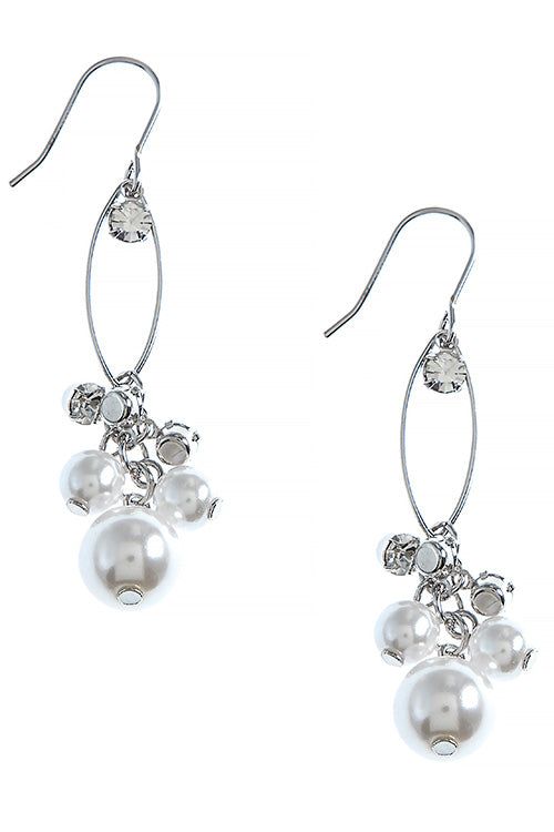 Jamie-Lynn Earrings - Silver