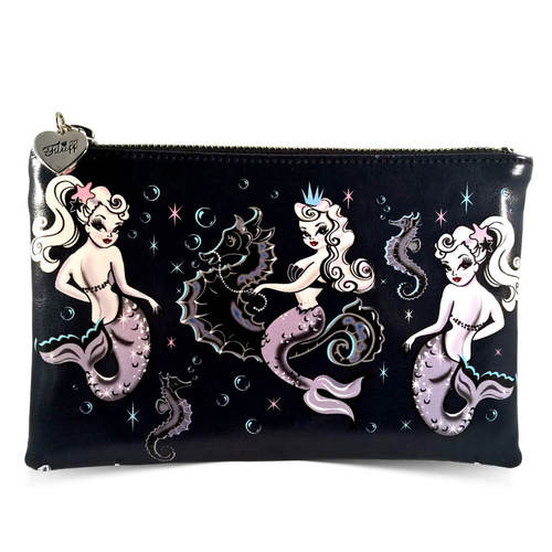Retro Cosmetic Bag - Pearla Mermaid
