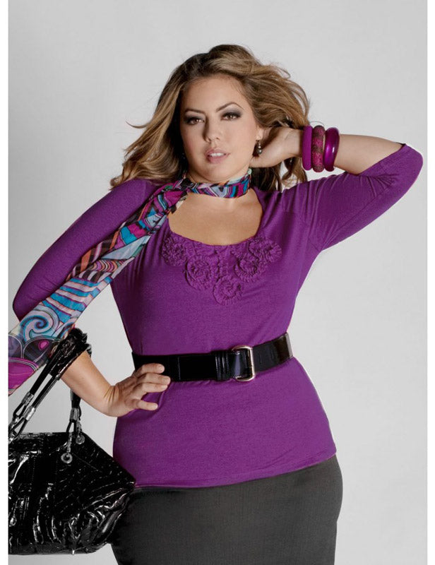 Elianne Top - Purple
