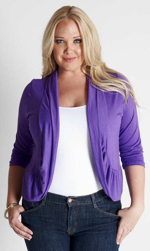 Chic Shrug - Purple