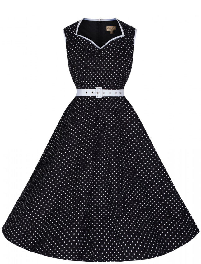 Xandra Polka Dot Dress